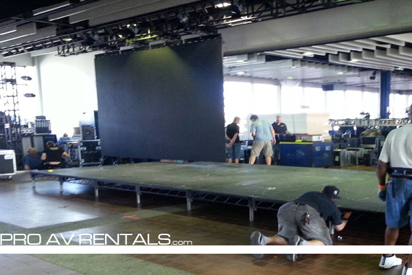 Stage Rental - Nokia 2013 NYC