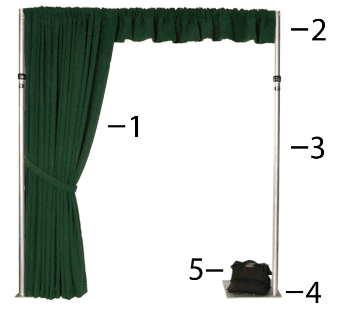 rent pipe and drape drapes crossfire sound pro av rentals net