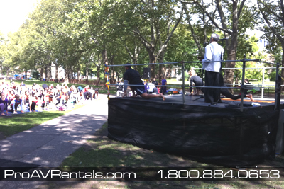Rent Stage - Outdoor Event