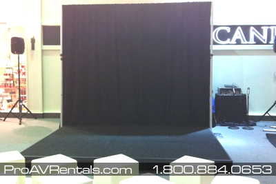 Rent Stage - Mall Event
