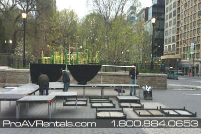 Rent Stage - Stage Construction
