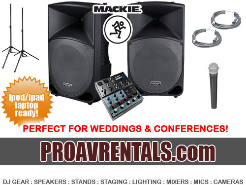 RENTAL RATE 13000 Day MENTION PARTY SOUND PACK130