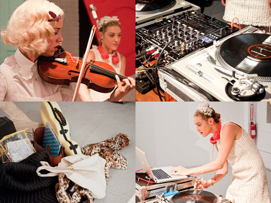 DJ Equipment Rental NYC by Pro Event Source for Alice + Olivia 2013 Fashion Week Show. For more infor visit: https://proavrentals.com  #proeventsource #proavrentals