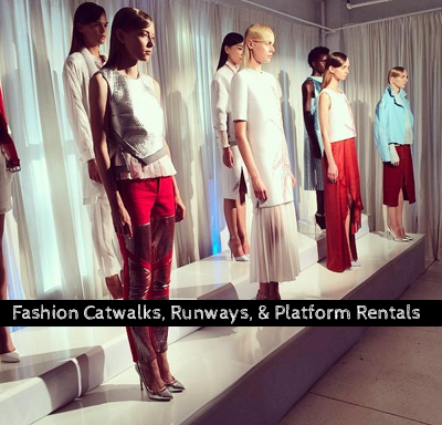 Fashion Runway Catwalk Platform Rental - NY, NYC, Brooklyn