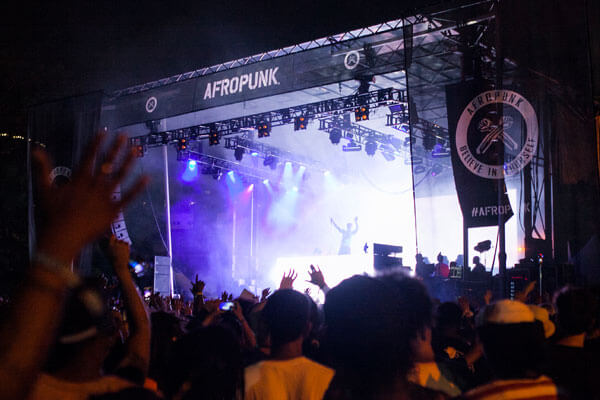 Afropunk NYC - Event Production Mobile Stage