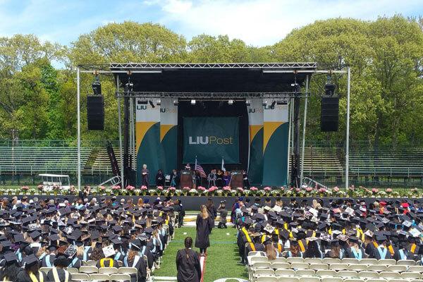 Graduation Stage Rentals, NY