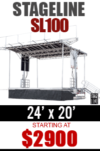Rent Outdoor Stage - NY, NJ, CT, PA, MD, DC