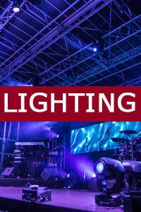 Rent Event Lighting - NY, NJ, CT, PA, DC, MD